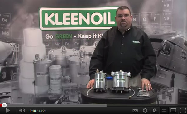 Kleenoil Bypass Filter System Overview